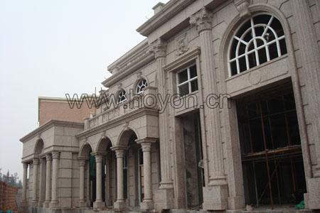 欧式 建筑立体柱子