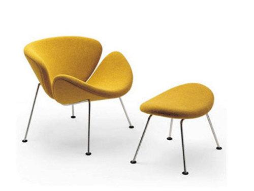 1965年设计的f163,小郁金香椅