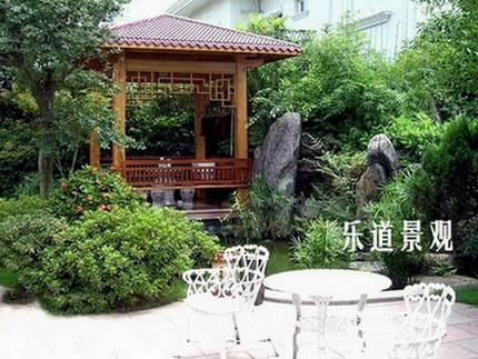 庭院设计-武汉乐道创景园林景观设计国内平面设计培训学校图片