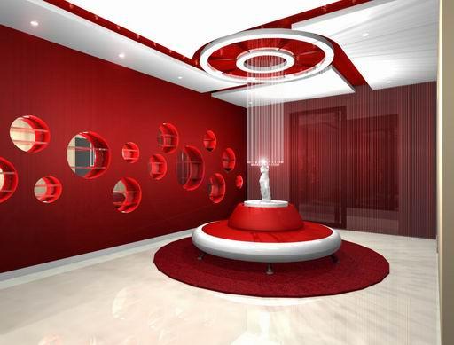 美容院装修之橱窗设计 郑州天狼装饰 国际 有限公司的设计师家园 郑州高清图片