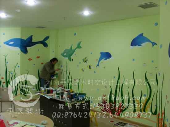 郑州手辰墙绘公司的设计师家园 郑州墙体彩绘装饰公司 中国建筑与室内设计师网,室内设计师,建筑设计师,景观设计师,装饰设计,装饰公司