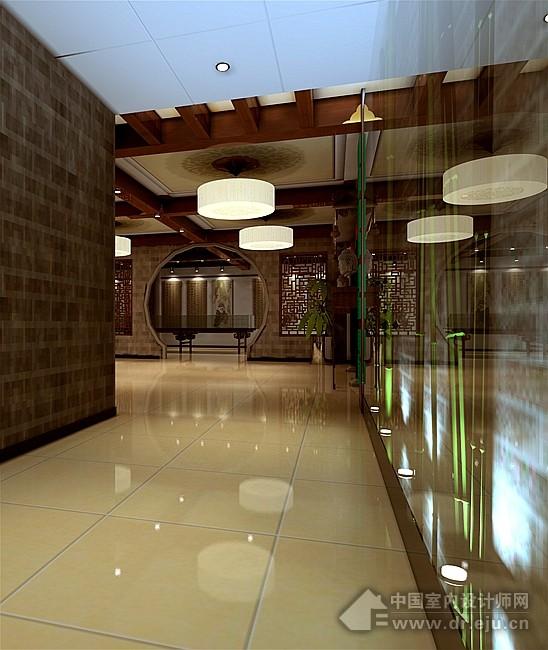 郑州茶楼装修设计——维森装饰茶楼装修设计效果图欣赏
