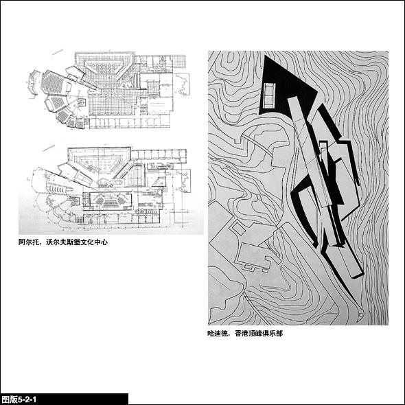 象中国建筑院落的嵌套一样,对规则领域(不论它是整组建筑的平面还是