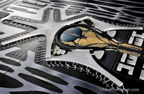 青岛:新机场航站楼方案初步确定-设计资讯-中国建筑